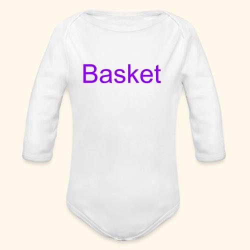 merch - Organic Long Sleeve Baby Bodysuit