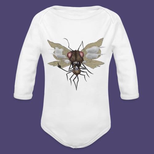 Toke Fly - Organic Long Sleeve Baby Bodysuit