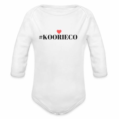 KOORIE CO - Organic Long Sleeve Baby Bodysuit