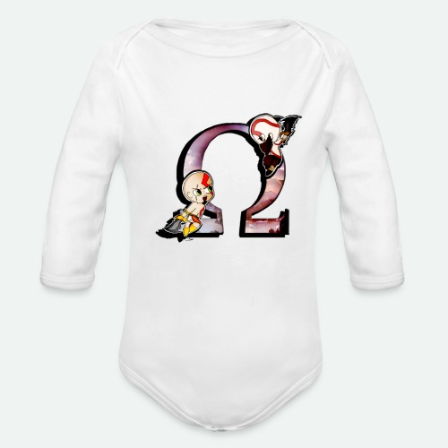 WAR OF GODS - Organic Long Sleeve Baby Bodysuit
