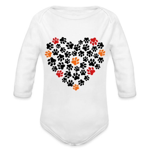 Animal Love - Organic Long Sleeve Baby Bodysuit
