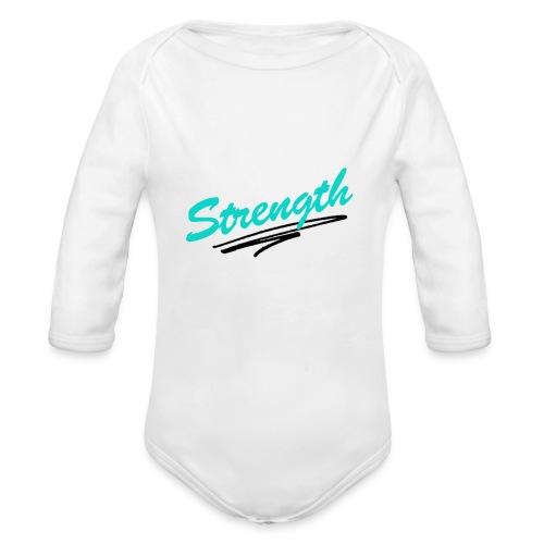 Strength Tank - Organic Long Sleeve Baby Bodysuit