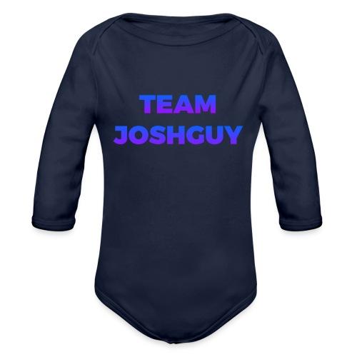 Team JoshGuy - Organic Long Sleeve Baby Bodysuit