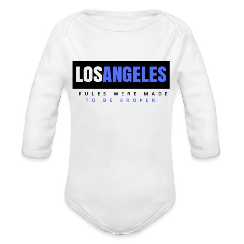 LOS ANGELES - Organic Long Sleeve Baby Bodysuit