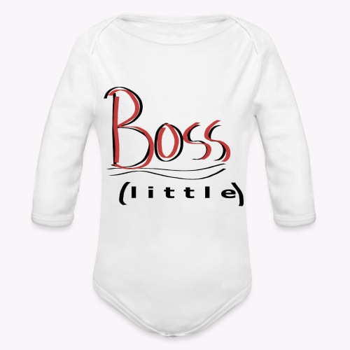 BOSSLITTLE - Organic Long Sleeve Baby Bodysuit
