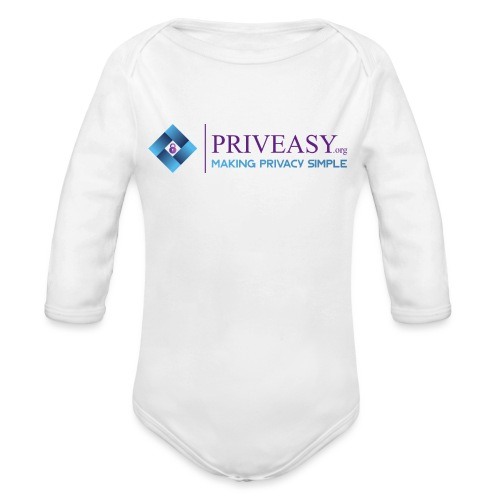 Design 1 - Organic Long Sleeve Baby Bodysuit