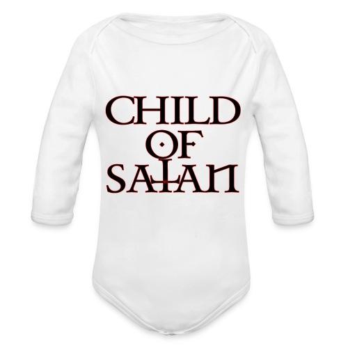 Child Of Satan - Organic Long Sleeve Baby Bodysuit