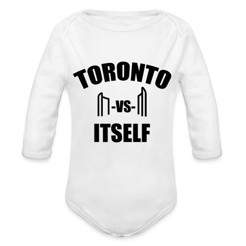 6 Versus 6 - Organic Long Sleeve Baby Bodysuit
