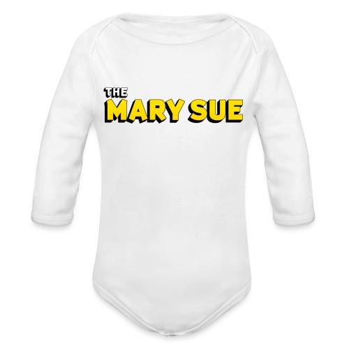 The Mary Sue T-Shirt - Organic Long Sleeve Baby Bodysuit