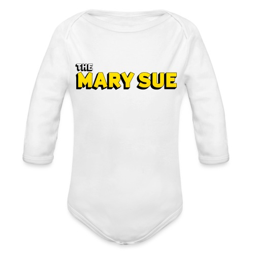 The Mary Sue Bag - Organic Long Sleeve Baby Bodysuit