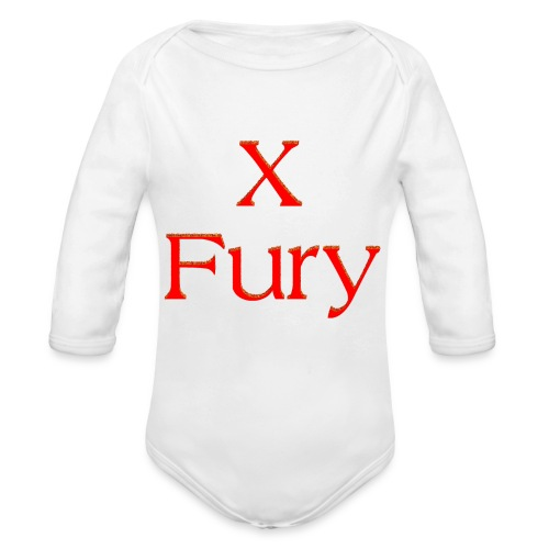 X Fury - Organic Long Sleeve Baby Bodysuit