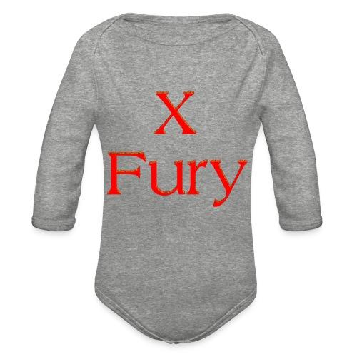 X Fury - Organic Long Sleeve Baby Bodysuit