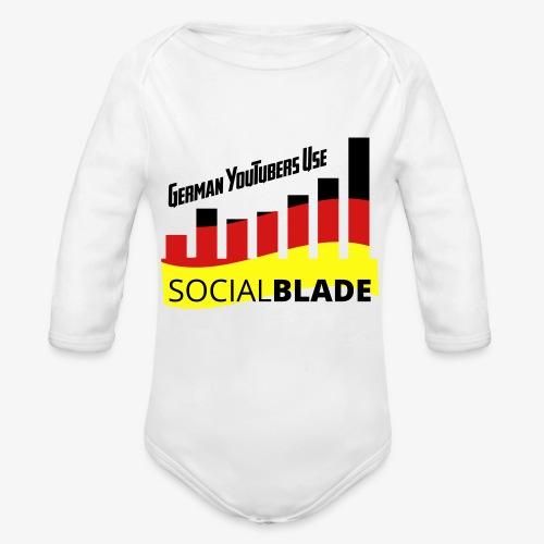 German YouTubers - Organic Long Sleeve Baby Bodysuit