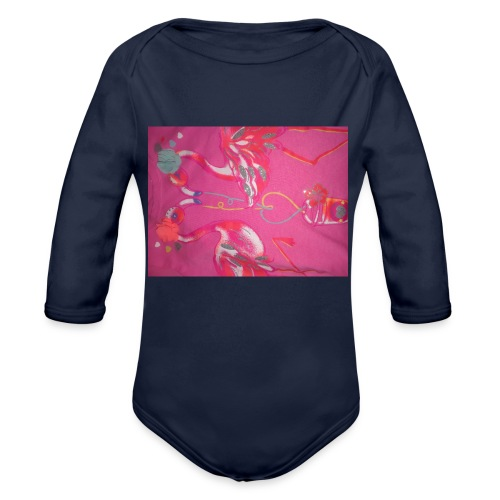 Drinks - Organic Long Sleeve Baby Bodysuit
