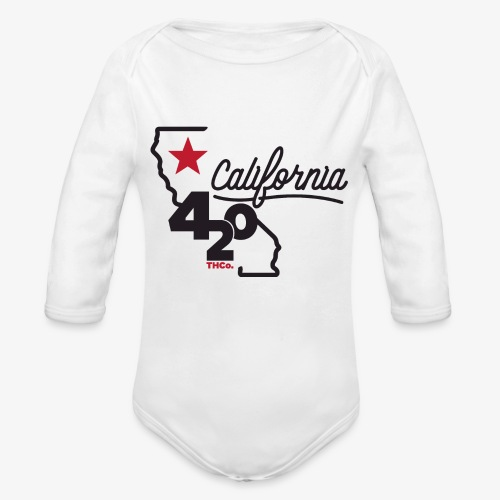 California 420 - Organic Long Sleeve Baby Bodysuit