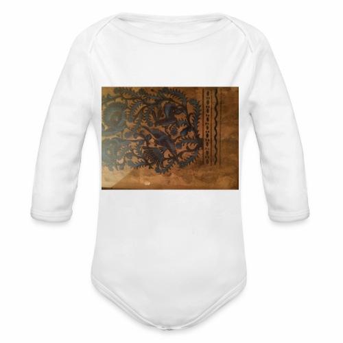 Dilfliremanspiderdoghappynessdogslikeitverymuchtha - Organic Long Sleeve Baby Bodysuit