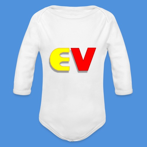 Entoro Vace Logo - Organic Long Sleeve Baby Bodysuit
