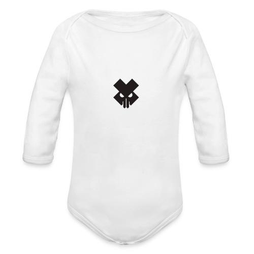 T.V.T.LIFE LOGO - Organic Long Sleeve Baby Bodysuit