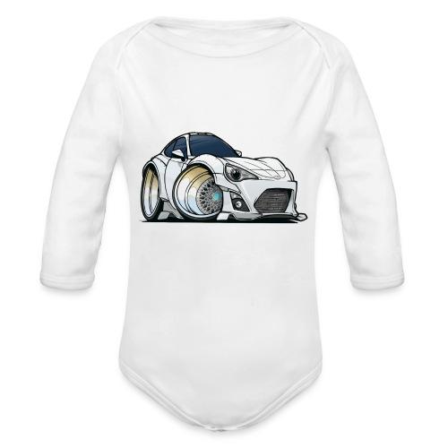 Toyota 86 - Organic Long Sleeve Baby Bodysuit