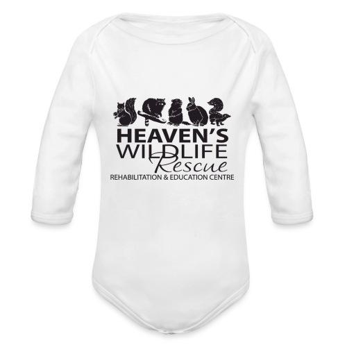 Heaven's Wildlife Rescue - Organic Long Sleeve Baby Bodysuit