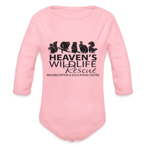Heaven's Wildlife Rescue - Organic Long Sleeve Baby Bodysuit