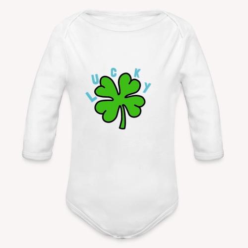 Lucky - Organic Long Sleeve Baby Bodysuit