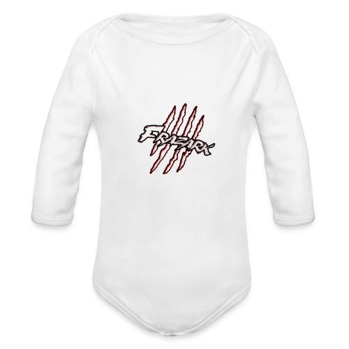 FrazarkBannerShirt png - Organic Long Sleeve Baby Bodysuit