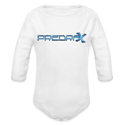 Predrax X Showcase - Exclusive For Water Bottles - Organic Long Sleeve Baby Bodysuit