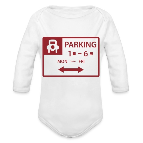 Free Parking - Organic Long Sleeve Baby Bodysuit