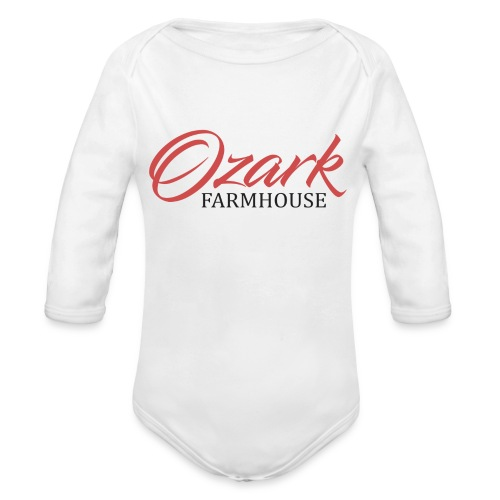 Ozark Farm House - Organic Long Sleeve Baby Bodysuit