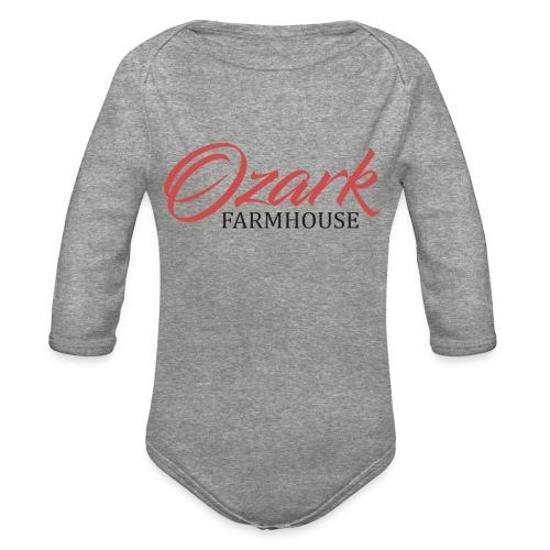 Ozark Farm House - Organic Long Sleeve Baby Bodysuit