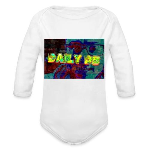 daily db poster - Organic Long Sleeve Baby Bodysuit
