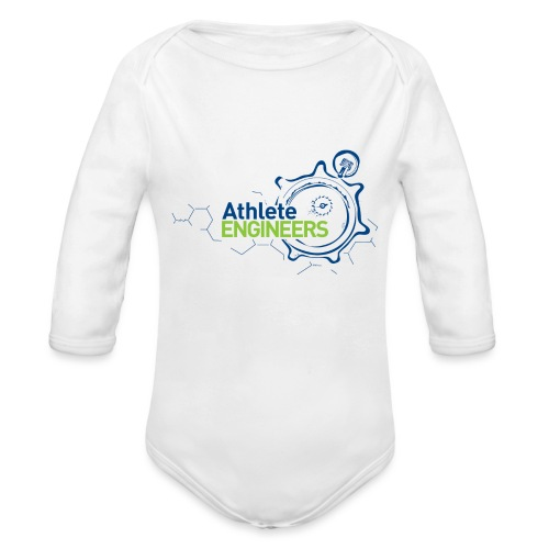 Athlete Engineers - Organic Long Sleeve Baby Bodysuit