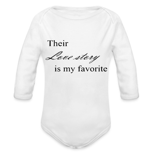 . - Organic Long Sleeve Baby Bodysuit