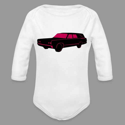 Hearse - Organic Long Sleeve Baby Bodysuit