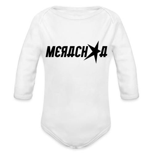 Merachka Logo - Organic Long Sleeve Baby Bodysuit