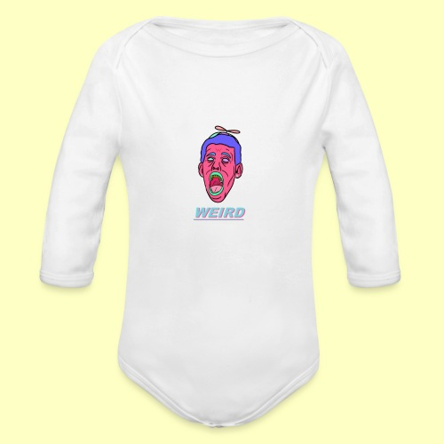 WEIRD - Organic Long Sleeve Baby Bodysuit