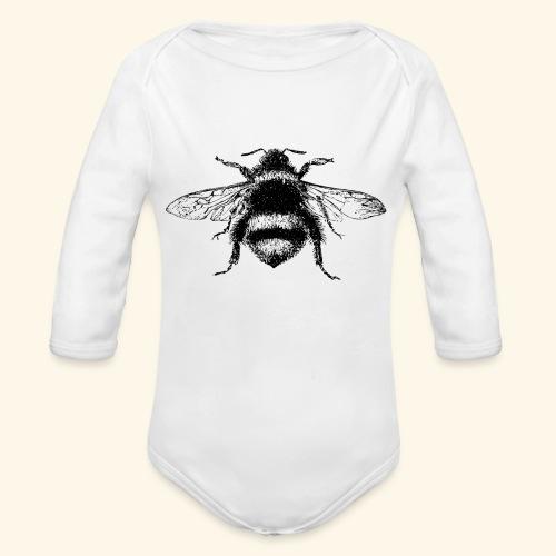 My Little Baby Bee - Organic Long Sleeve Baby Bodysuit
