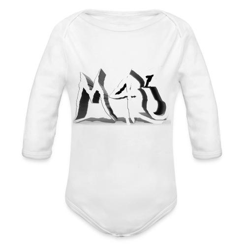M43 Logo 2018 - Organic Long Sleeve Baby Bodysuit