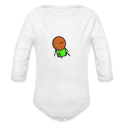 pep* - Organic Long Sleeve Baby Bodysuit