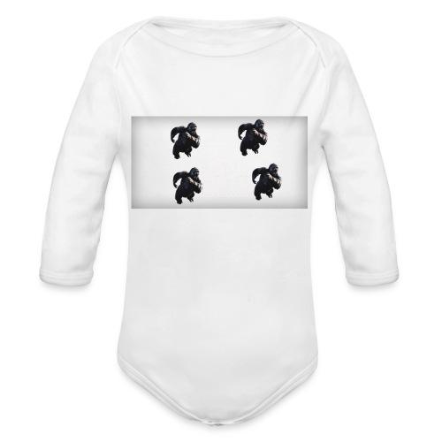 KINGKONG! - Organic Long Sleeve Baby Bodysuit
