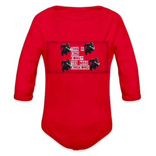 KINGKONG! - Organic Long Sleeve Baby Bodysuit