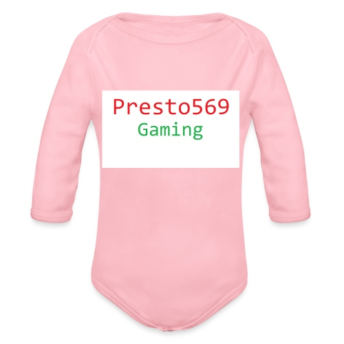 Presto569 Gaming - Organic Long Sleeve Baby Bodysuit