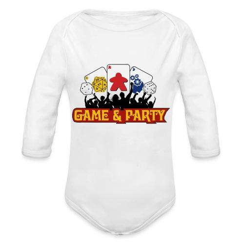 Logo - Organic Long Sleeve Baby Bodysuit