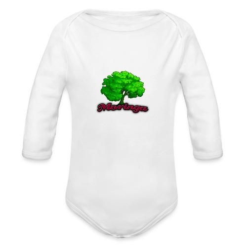Moringa Logo Apple Iphone 6/6S Case - Organic Long Sleeve Baby Bodysuit