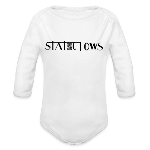 Staticlows - Organic Long Sleeve Baby Bodysuit