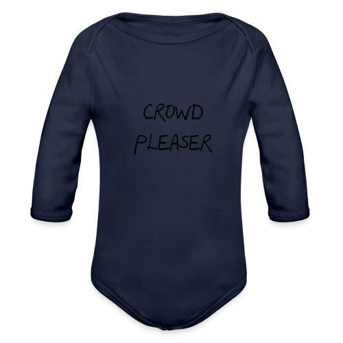CROWDPLEASER - Organic Long Sleeve Baby Bodysuit