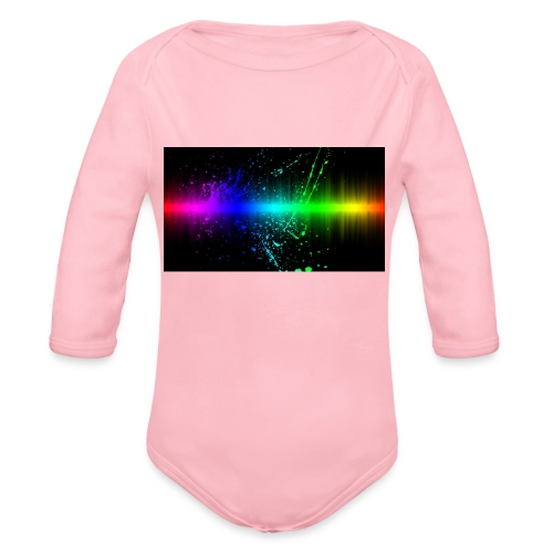 Keep It Real - Organic Long Sleeve Baby Bodysuit