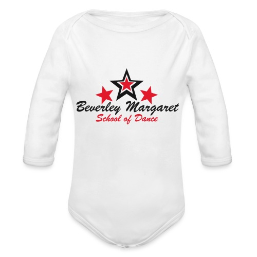 drink - Organic Long Sleeve Baby Bodysuit