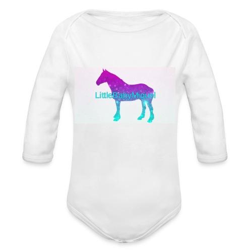 LittleBabyMiguel Products - Organic Long Sleeve Baby Bodysuit